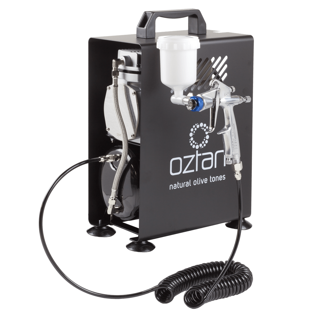 Oztan Airbrush Spray Tanning System Compressor | Oztan Natural Flawless Spray Tanning Solutions