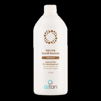 Oztan Tan Me Bondi Bronze Professional Tanning Solution 1L | Oztan Natural Flawless Spray Tanning Solutions