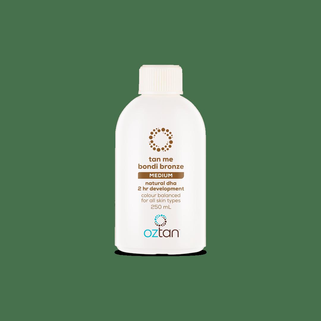 Oztan Tan Me Bondi Bronze Professional Tanning Solution Sample 250ml | Oztan Natural Flawless Spray Tanning Solutions