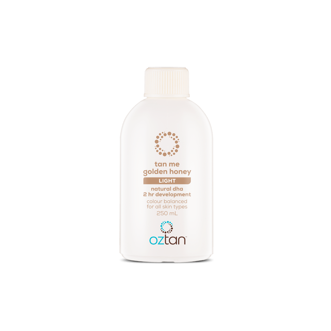 Oztan Tan Me Golden Honey Professional Tanning Solution Sample 250ml | Oztan Natural Flawless Spray Tanning Solutions