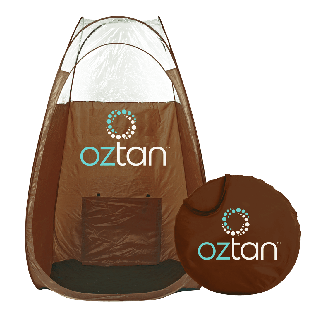 Oztan Portable Pop Up Spray Tanning Tent | Oztan Natural Flawless Spray Tanning Solutions
