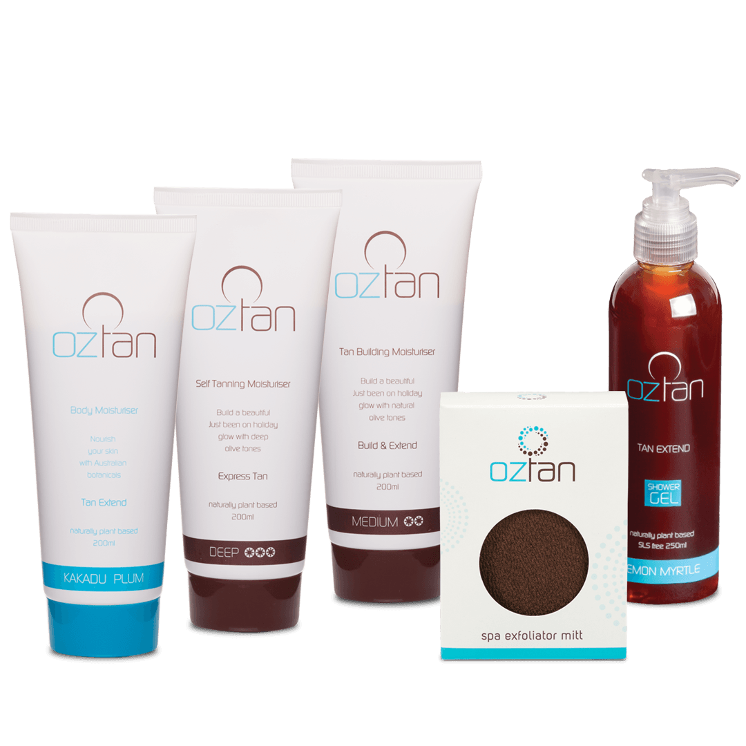 Oztan Retail Package | Oztan Natural Flawless Spray Tanning Solutions