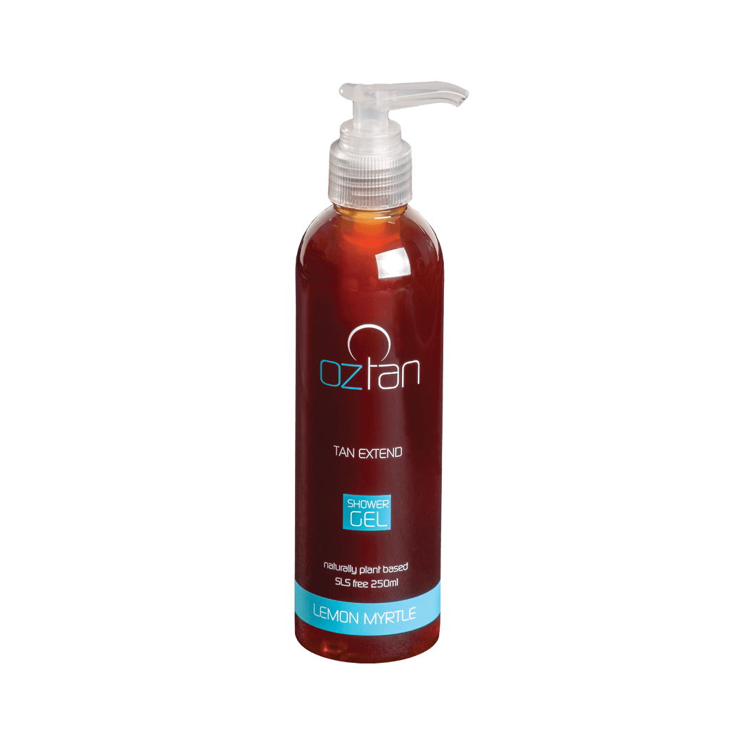 Oztan Tan Extend Shower Gel 250ml | Oztan Natural Flawless Spray Tanning Solutions