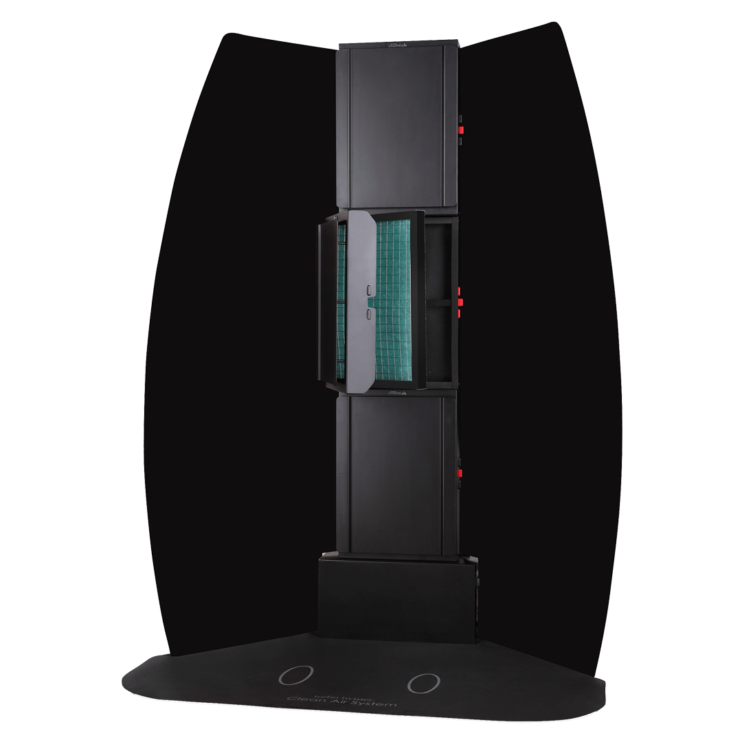 Oztan Tower Extraction Spray Booth | Oztan Natural Flawless Spray Tanning Solutions