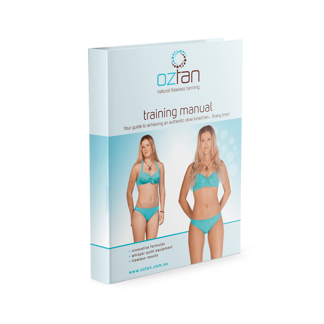 Oztan Training Manual | Oztan Natural Flawless Spray Tanning Solutions
