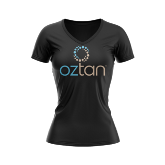 Oztan Branded Tee Shirt | Oztan Natural Flawless Spray Tanning Solutions